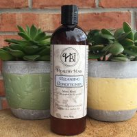 Healthy Hair Mint Cleanse Conditioner Curly Hair 15 oz
