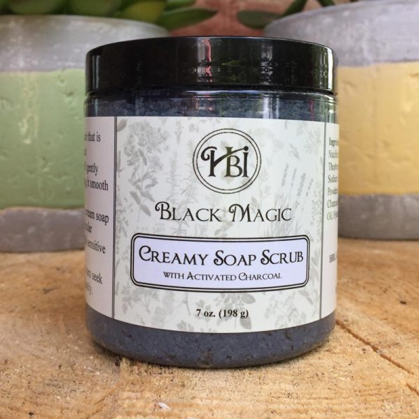 Black Magic Soap Scrub