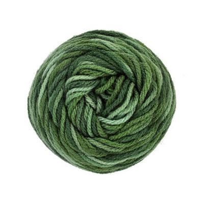 Green Variegated Yarn