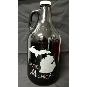 Engraved Growler Pure Michigan