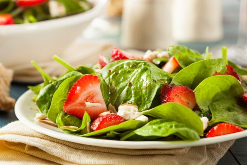 Strawberry Drizzle Topping on Strawberry Drizzle Salad