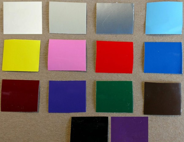 Vinyl Colors Available