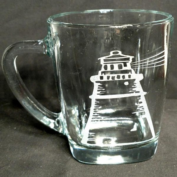 Engraved Coffee Mug Lighthouse