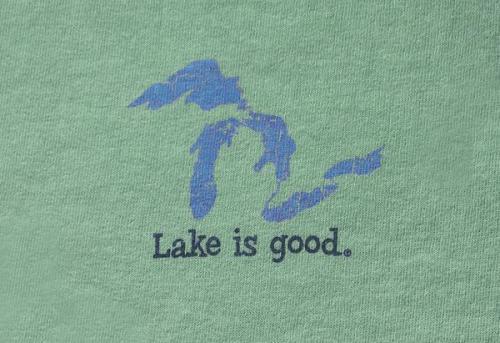 Lake Is Good Green Great Lakes