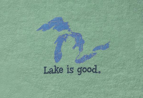 Lake Is Good Green Great Lakes