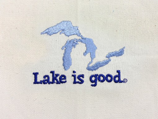 Lake is Good Tote Great Lakes