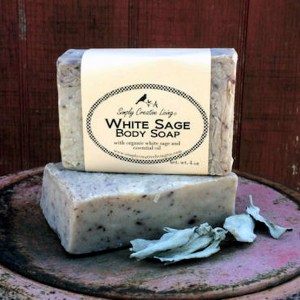White Sage Soap Bar