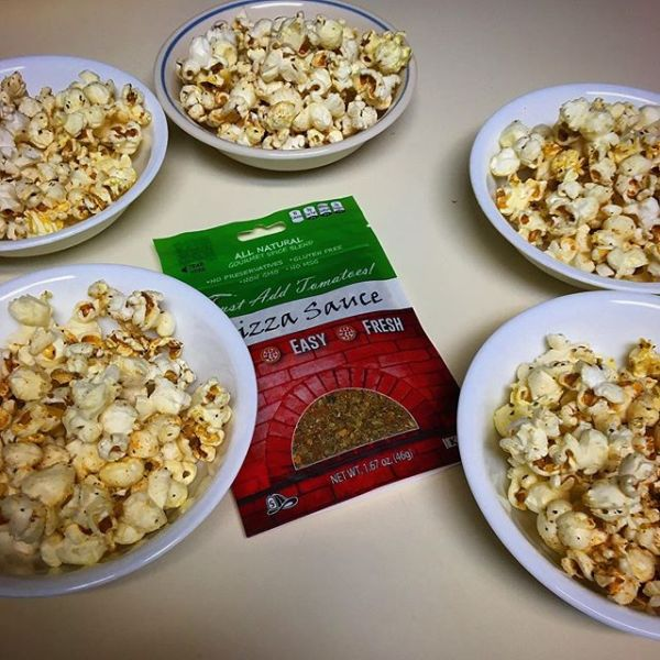 Just Add Tomatoes Pizza Sauce Seasoning Mix Popcorn