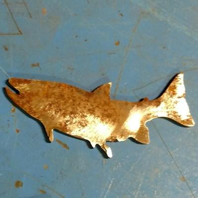 Rustic Metal Fish