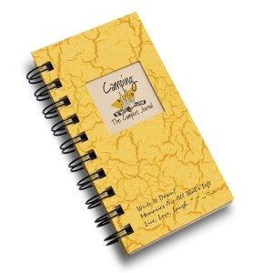 Camping – The Campers Mini Journal – Sunset Yellow
