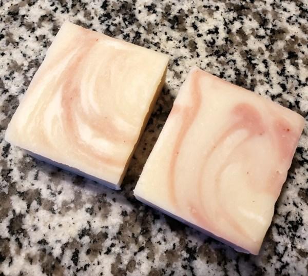 Face Soap kaolin rose clay soap