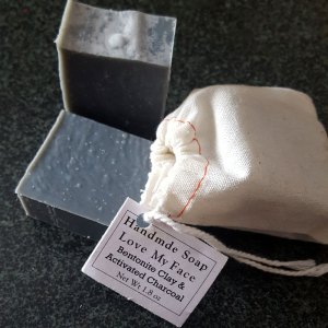 Love My Face Soap Charcoal Bentonite Clay Soap