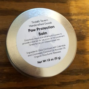 Dog Paw Protection Balm