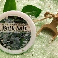 Eucalyptus Breeze Bath Salts All Natural
