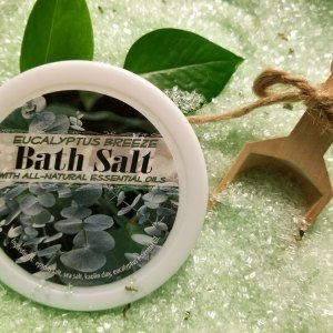 Eucalyptus Breeze Bath Salts All Natural