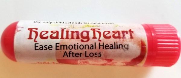 Healing Heart Personal Aromatherapy Inhaler
