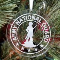 Personalized Army National Guard Ornament