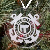 Personalized United States Coast Guard Ornament
