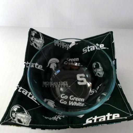 Michigan State Microwave Bowl Cozy