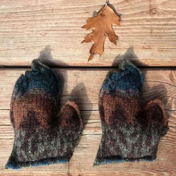 Rustic Michigan Hand Warmers