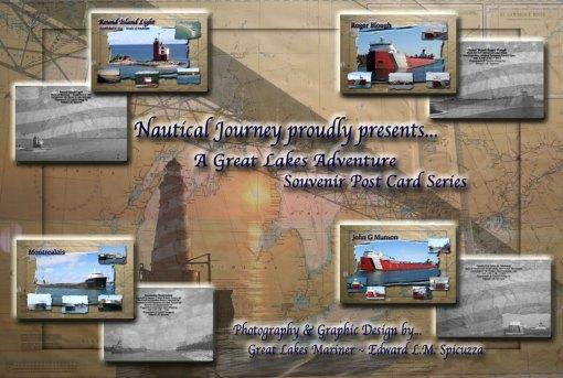 Nautical Postcard Set