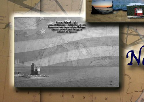 Nautical Postcard Set Back Side