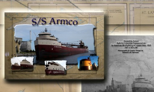 Nautical Postcard Set SS Armco