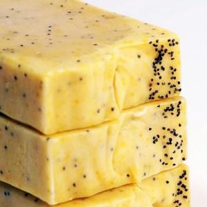Lemon Mango Poppy Seed Soap