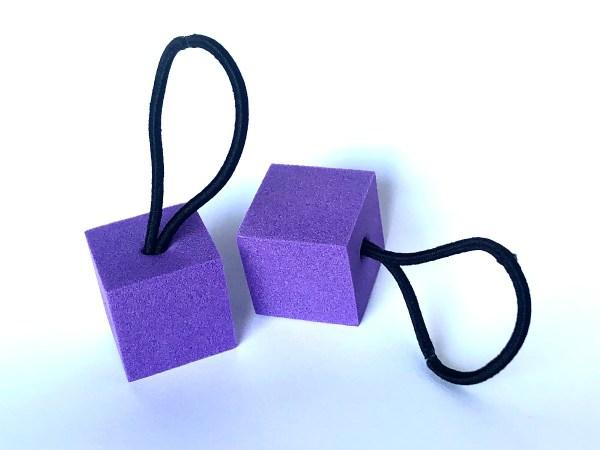 Pants Up Suspenders Purple
