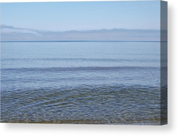 Clear Lake Superior Canvas Print Lake Superior Beach