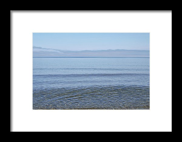 Clear Lake Superior Print Lake Superior Beach