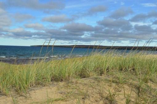 Cloudy Lake Superior Shoreline Art
