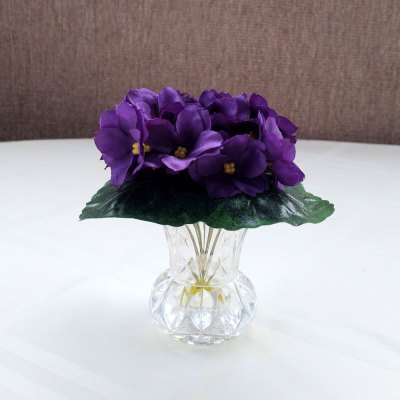 Violet Silk Floral Arrangement