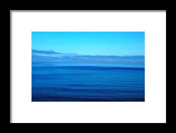 Blue Lake Superior Print