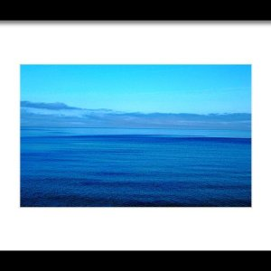 Blue Lake Superior Print