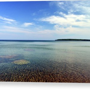 Lake Superior Rocks Canvas Print