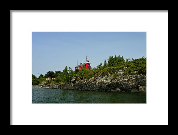 Marquette Michigan Lighthouse Print