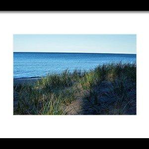 Shade On Lake Superior Print