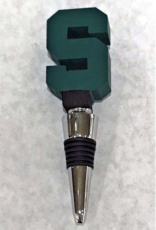 MSU S Bottle Stopper