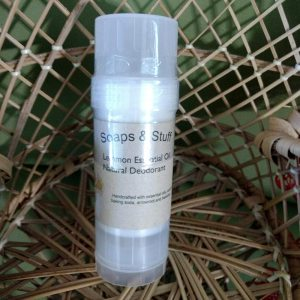 All Natural Lemon Deodorant