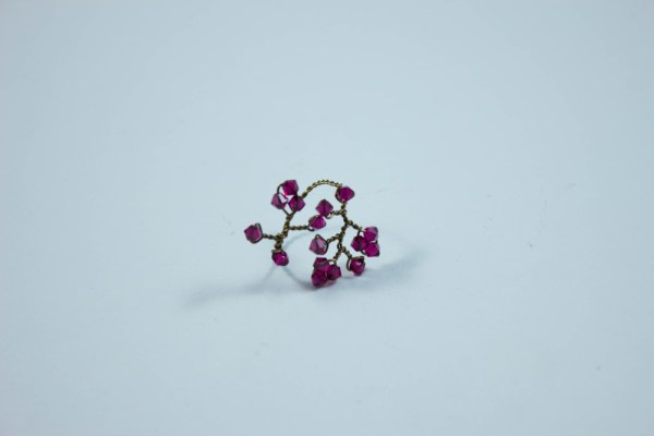Concerto Ring Cranberry