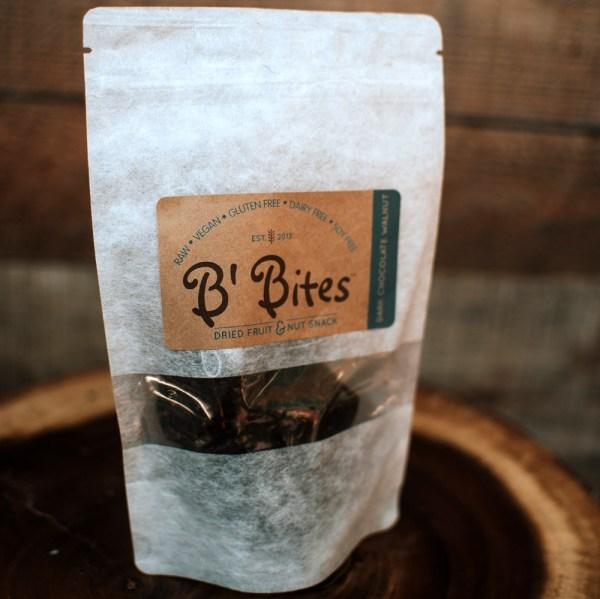 Dark Chocolate Walnut Energy Bites