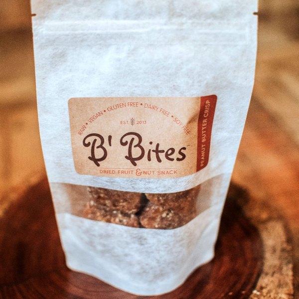 Peanut Butter Crisp Energy Bites