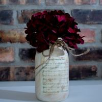 Personalized Sheet Music Jar