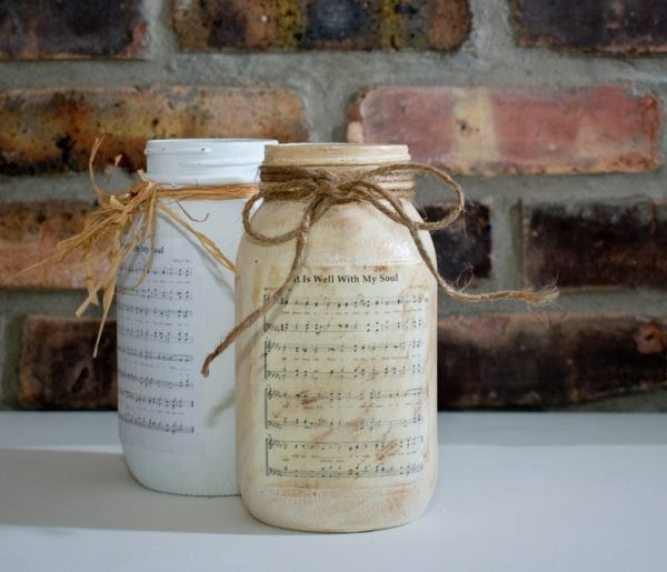 Sheet Music Jar Options