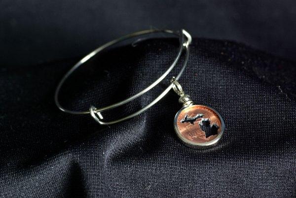 Michigan Penny Bracelet