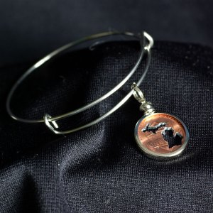 Michigan Penny Bracelet