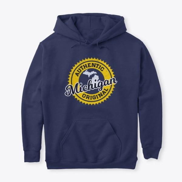 Authentic Michigan Original Hoodie