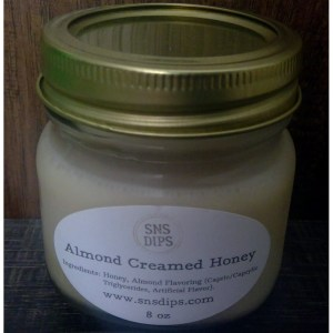 Almond Creamed Honey