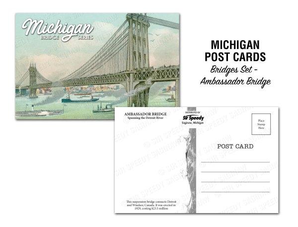 Ambassador Bridge Postcard